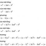 [ 7 Hằng Đẳng Thức Đáng Nhớ ] Trong toán học lớp 8