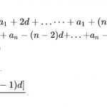 Công thức cấp số cộng đầy đủ nhất, dễ hiểu, có ví dụ minh họa