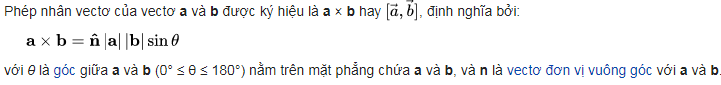 dinh nghia tich co huong