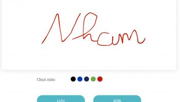 Hướng Dẫn Cách Tạo Chữ Ký Online Theo Tên Đẹp, Ý Nghĩa