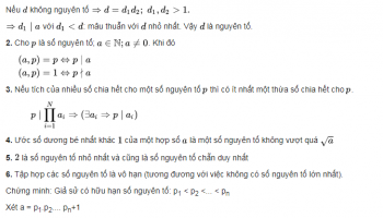 [ Số Nguyên Tố là gì ] Số nguyên tố cùng nhau, hợp số, pascal